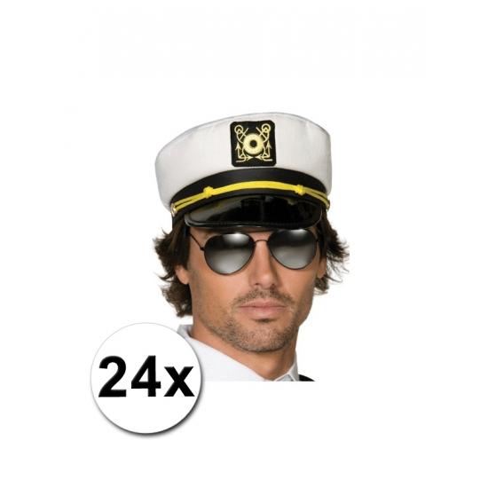 24 kapiteinspetten voor volwassenen